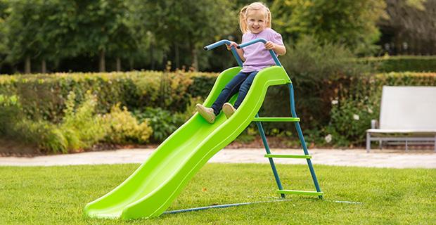5.8ft Wavy Kids Slide